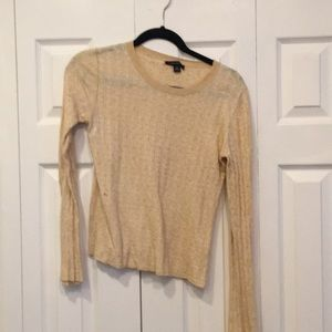 Yellow banana republic sweater